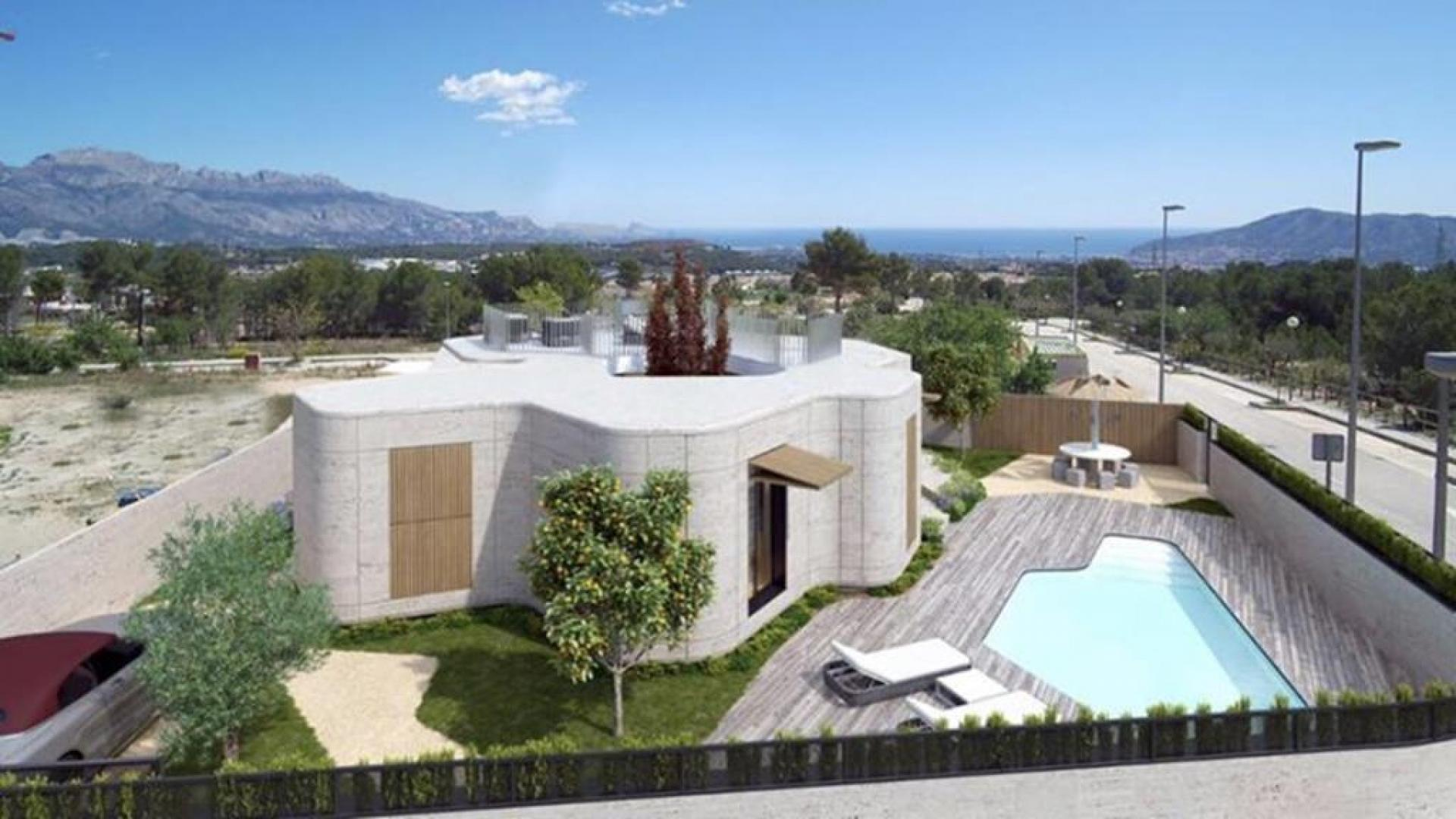 MP952: Villa for sale in Polop De La Marina