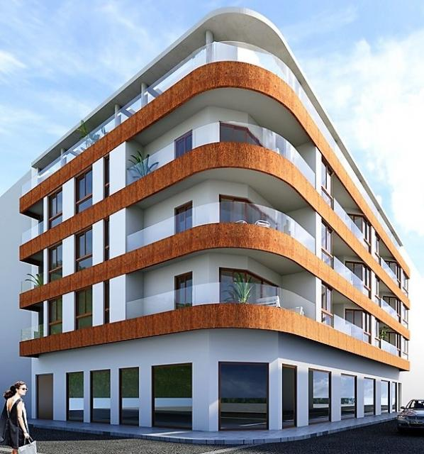 New construction - 3 bedroom penthouses with communal pool and private solarium, 150 m from Los Locos beach - Torrevieja Penthouse Torrevieja
